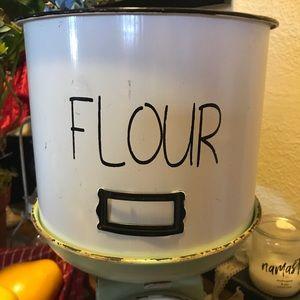 Farmhouse Style Flour Bucket